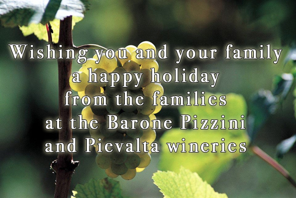 holiday wishes pizzini